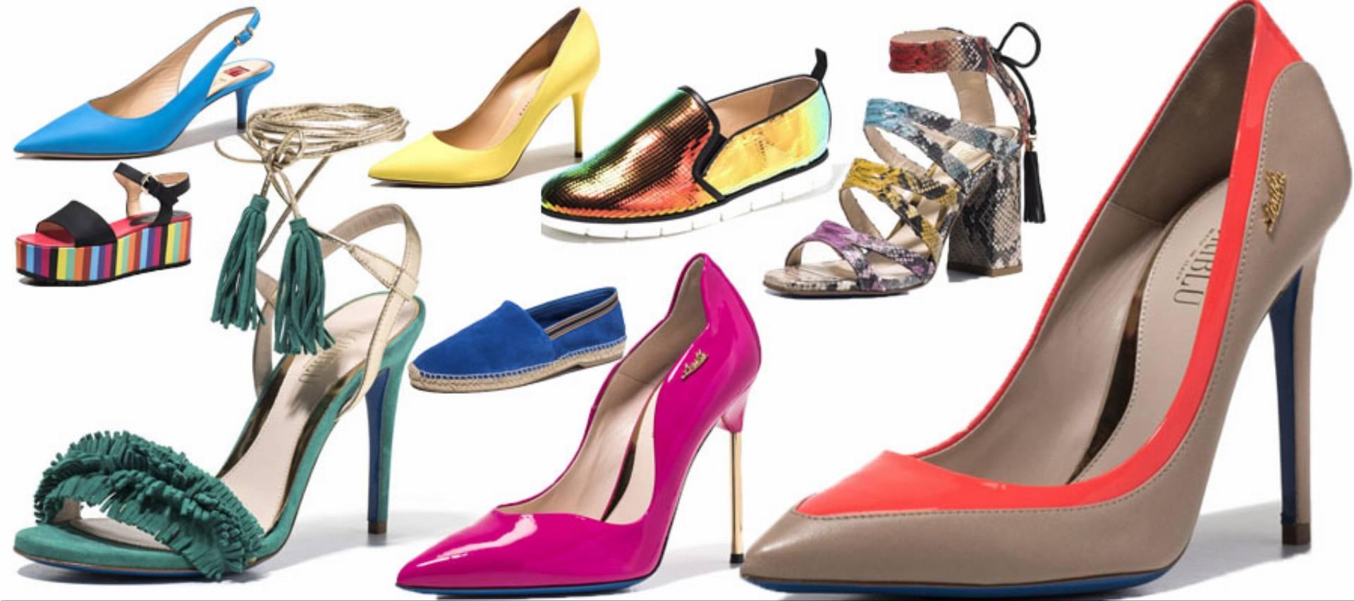 kolorowe buty na lato 2016