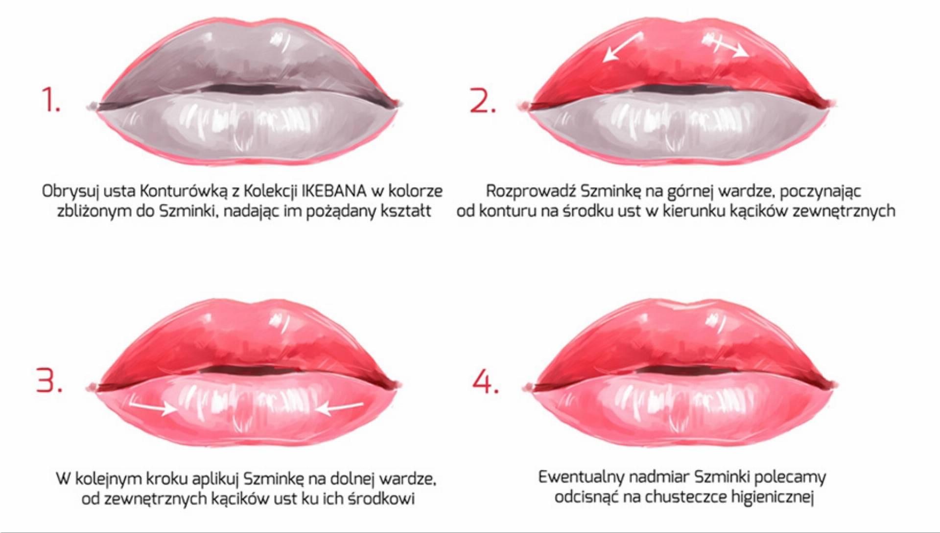 Krok Po korku - perfekcyjny makijaż ust VIPERA