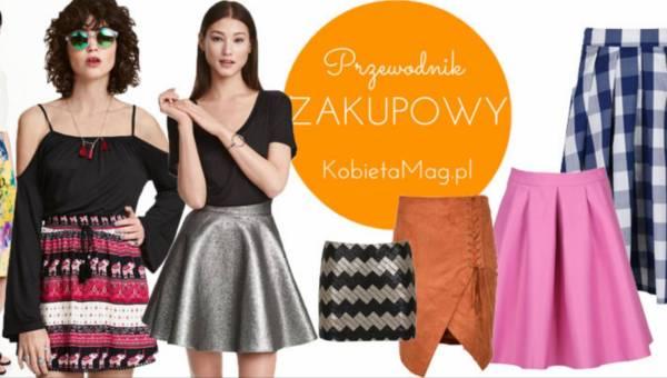Przewodnik zakupowy: Modne spódnice na lato 2016 w sklepach ZARA, Mohito i H&M