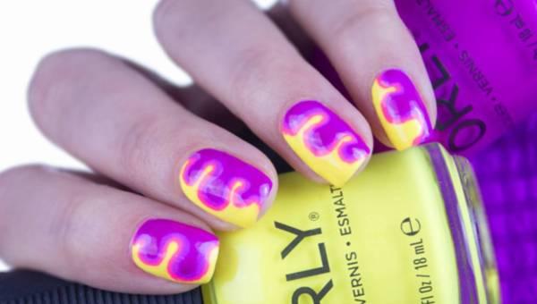 Modny manicure na lato – neonowe zdobienia krok po kroku