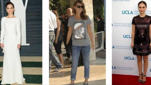 Modowe inspiracje w stylu Natalie Portman