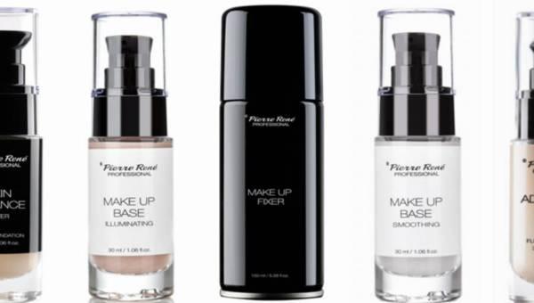 Nowości do makijażu marki PIERRE RENÉ PROFESSIONAL: utrwalacz, bazy i fluidy do twarzy