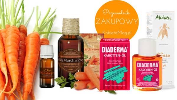 Przegląd zakupowy: Olejki marchewkowe