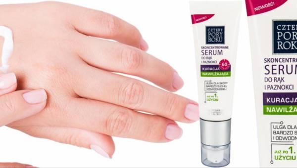 Skoncentrowane serum Cztery Pory Roku do rąk i paznokci