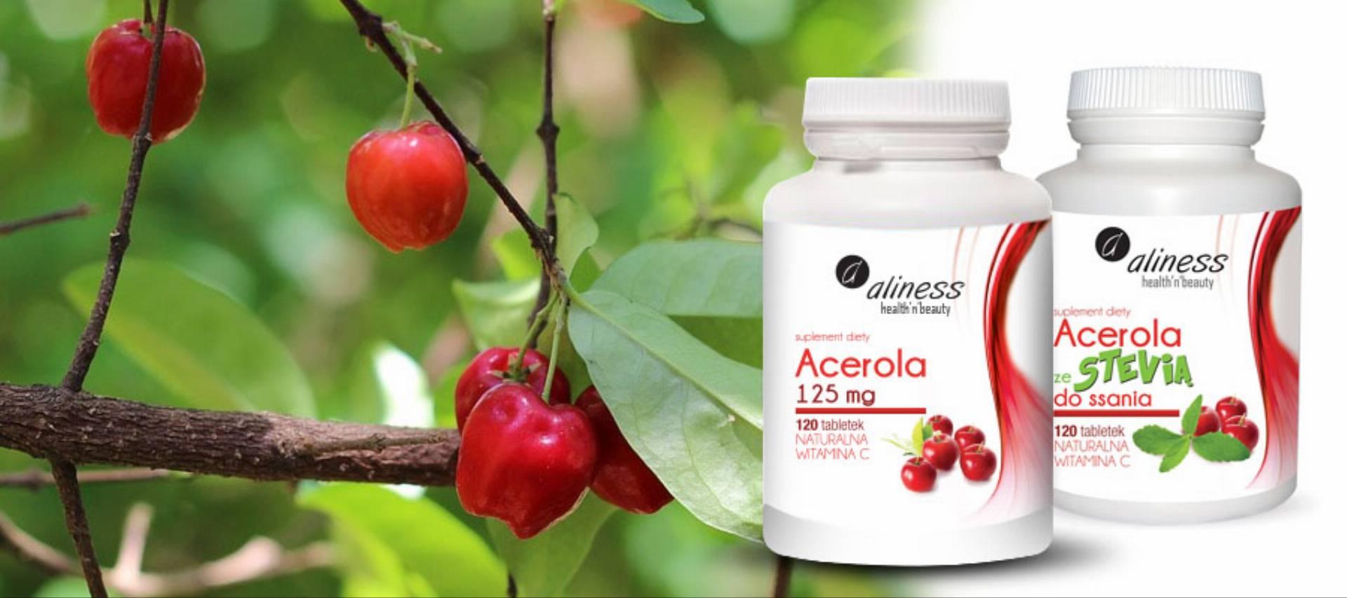 suplement diety acerola