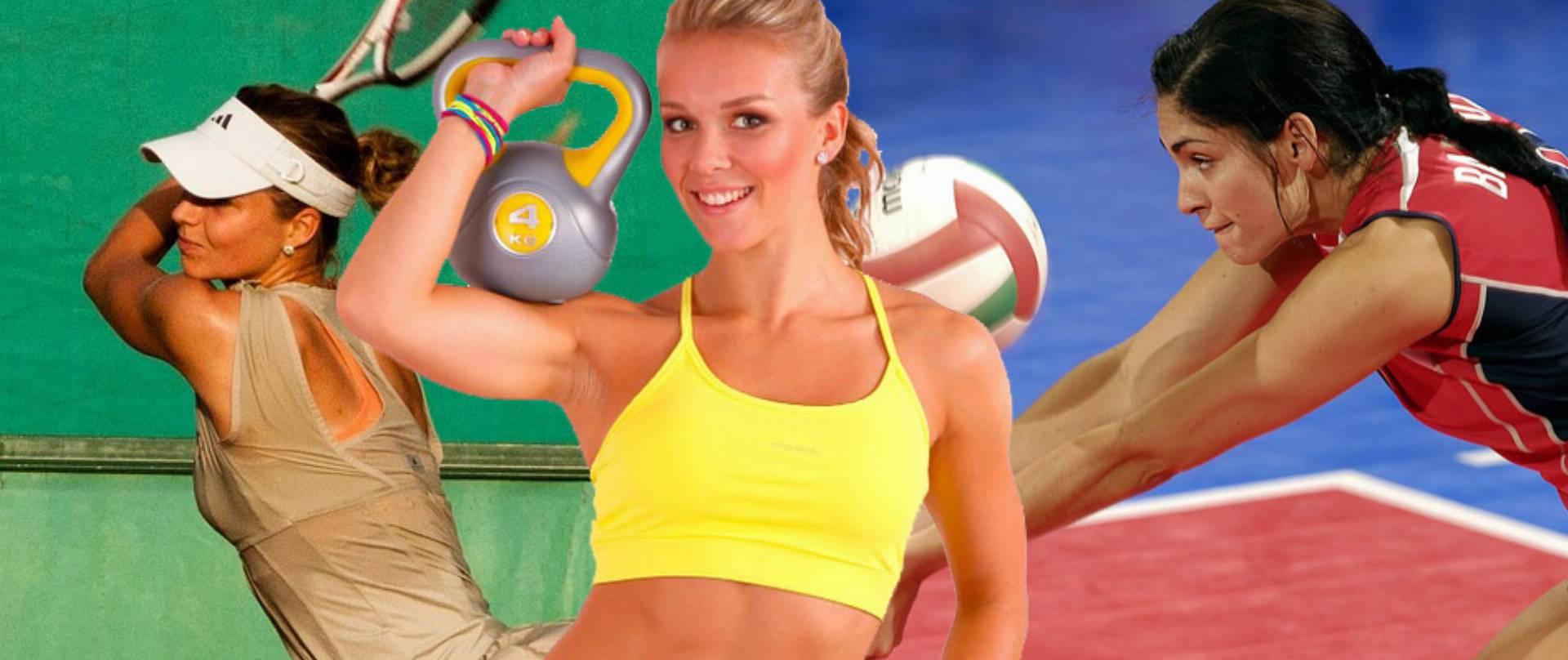 kosmetyki dla kobiet uprawiających sport