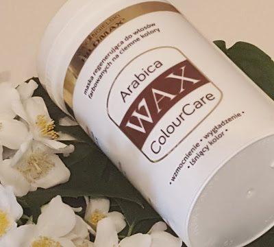 Wax Pilomax, Arabica Colour Care - maska do włosów farbowanych na ciemne kolory 1