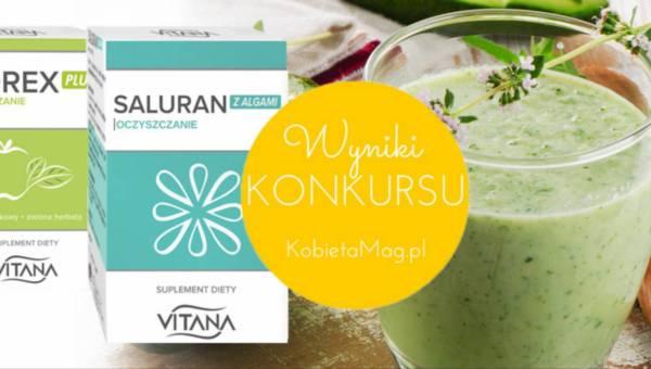 Wyniki konkursu: Lato z suplementami marki Vitana – Cidrex i Saluran
