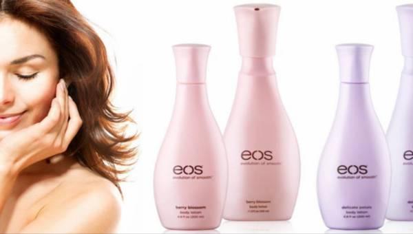 Nawilżające balsamy do ciała EOS o przyjaznym składzie