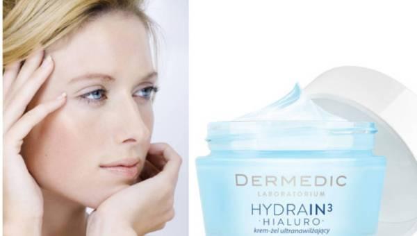 Dermedic: Linia Hydrain3 Hialuro rozszerzona o innowacyjny Krem-żel ultranawilżający 48h