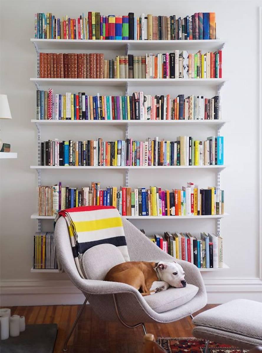 inspiracje pomysły na domową biblioteczkę (3)