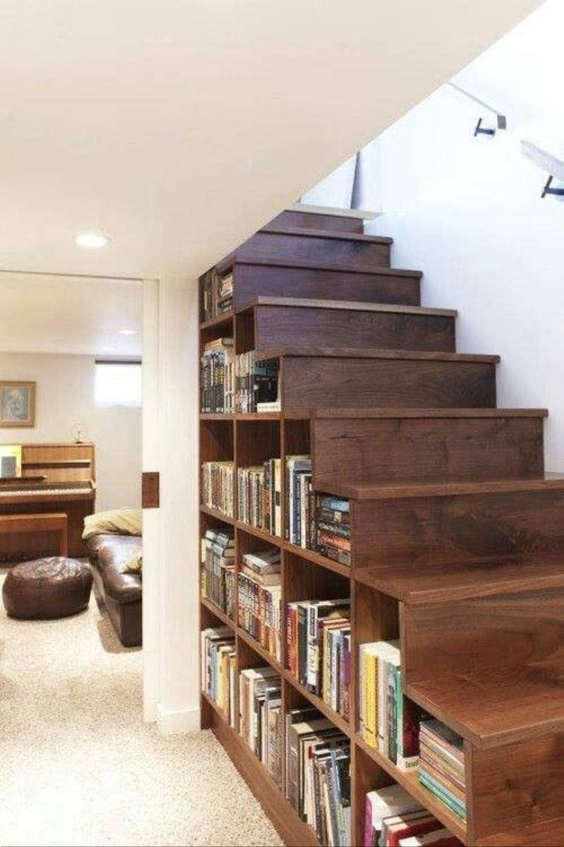 inspiracje pomysły na domową biblioteczkę (5)
