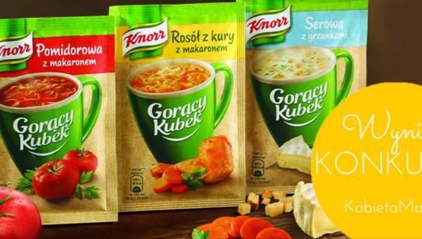 Wyniki konkursu: Wakacyjna przygoda z Knorr
