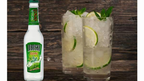 Lubuski Gin & tonic przełamany miętą bądź limonką