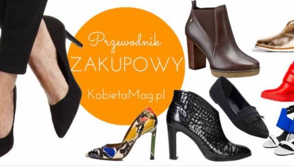 Przewodnik zakupowy: Modne buty na jesień 2016