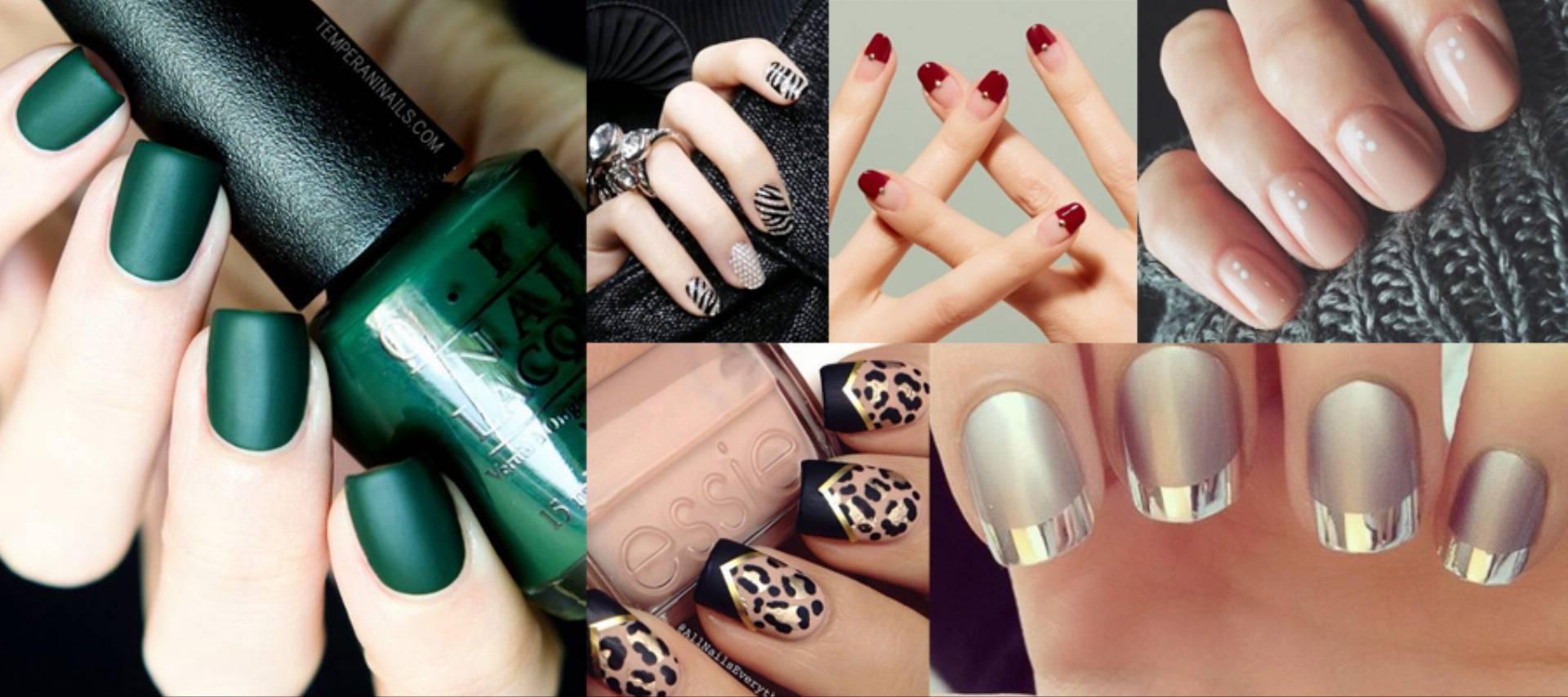 modne paznokcie na jesień 2016