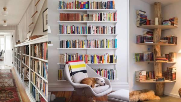 Inspiracje: Pomysły na domową biblioteczkę