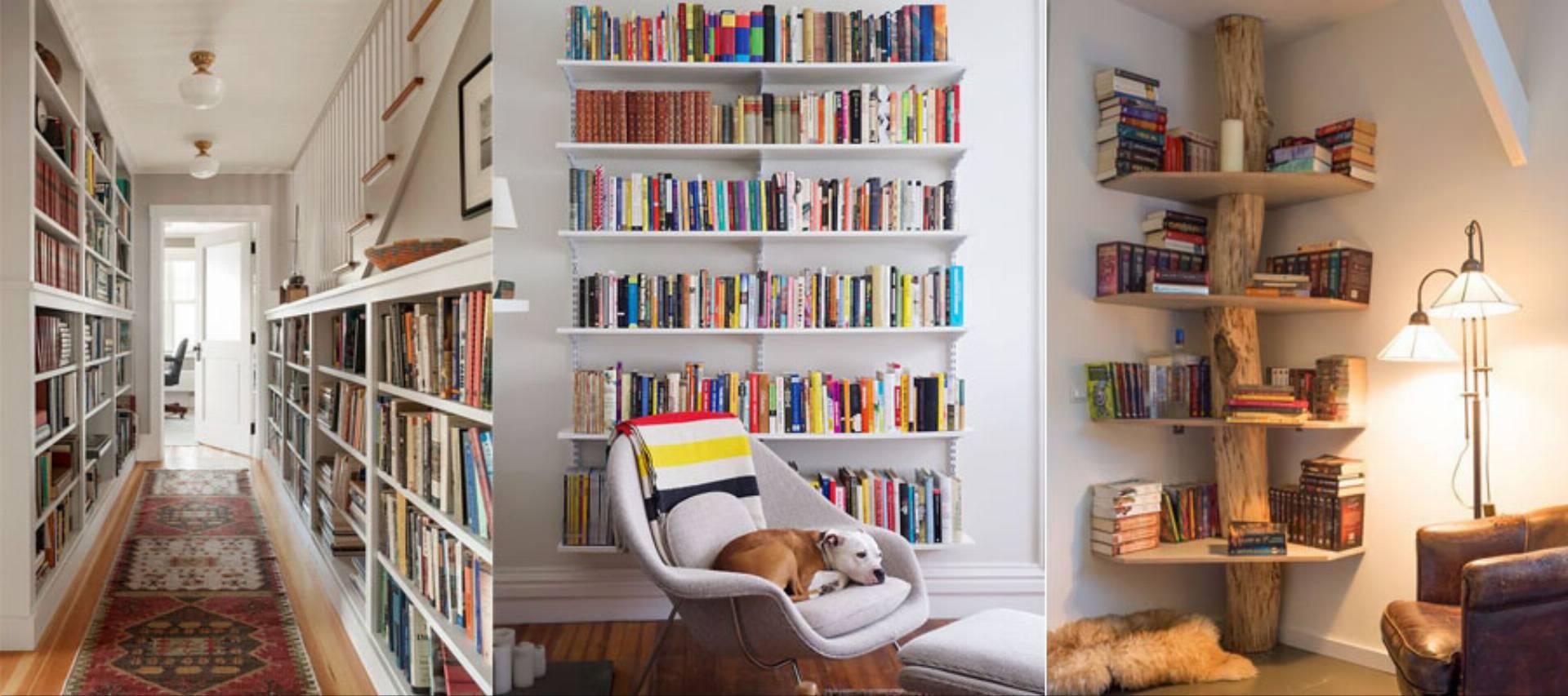 pomysły na domową biblioteczkę
