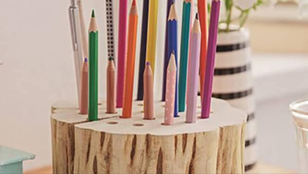DIY: Przybornik biurowy na początek roku szkolnego