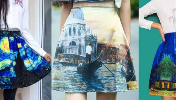 Dzieła sztuki na ubraniach. Dzięki nim wyrazisz swoją osobowść