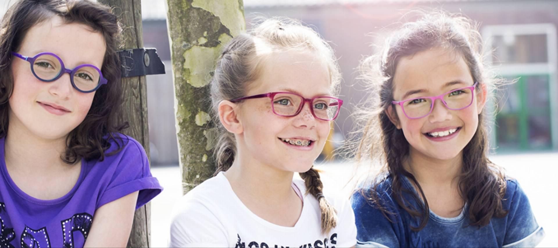 dzieci okulary wzrok dziecka