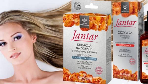 Nowości w bursztynowej serii kosmetyków Farmona Jantar