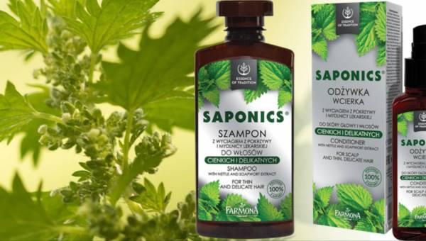 Farmona Saponics – linia kosmetyków z wyciągiem z pokrzywy i mydlnicy lekarskiej