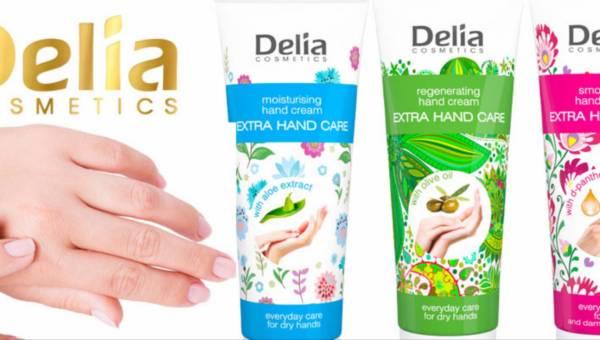 Nowość kosmetyczna: Kremy do rąk Delia Cosmetics