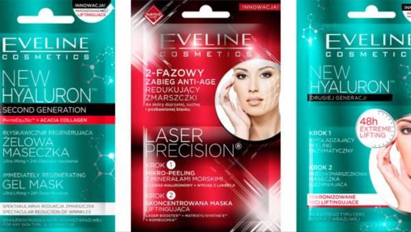 Nowe maseczki Eveline Cosmetics do pielęgnacji cery dojrzałej