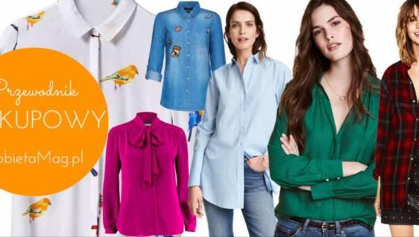 Przewodnik zakupowy: Modne koszule na jesień 2016