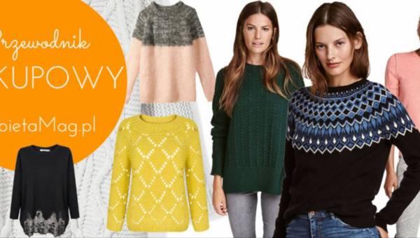 Przewodnik zakupowy: Modne swetry na jesień 2016