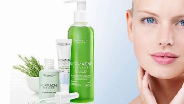Dermedic, NORMACNE – seria kosmetyków do cery ze skłonnością do trądziku