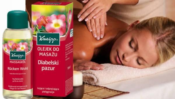 Kneipp, Olejek do masażu Diabelski pazur