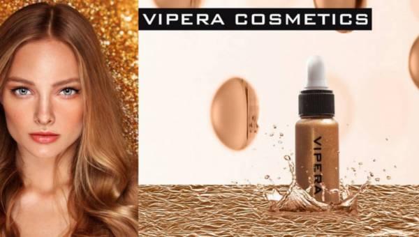 VIPERA, Rozświetlająca Oliwka/Serum  Do Witalizacji Cery i Włosów – MESO-THERAPY Złote Sanktuarium