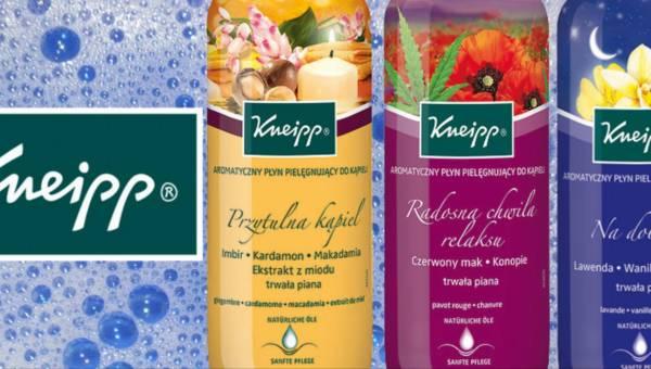 Aromatyczne płyny do kąpieli Kneipp