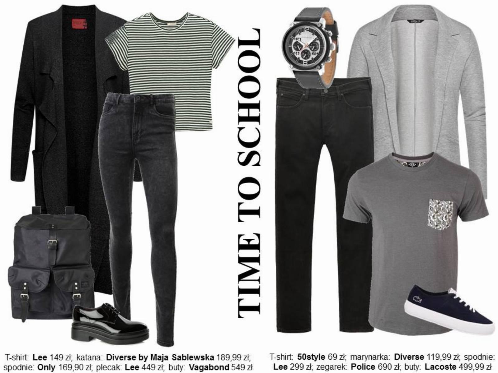 Powrót do szkoły - stylizacje 3