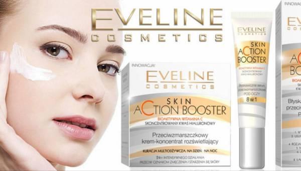 Skin Action Booster – nowa linia przeciwzmarszczkowa od Eveline Cosmetics