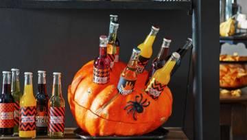 DIY:  Halloweenowa dynia do chłodzenia napojów