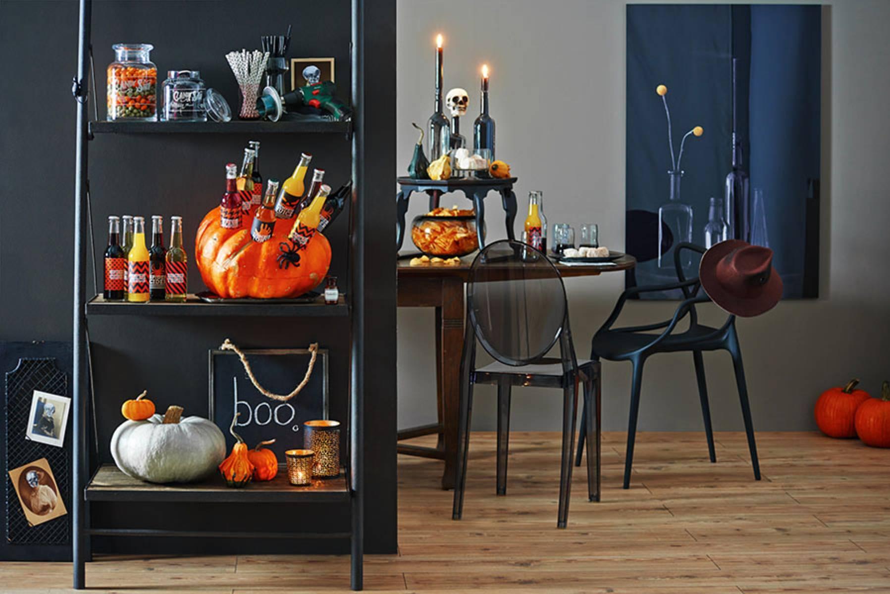 Halloweenowa dynia - dekoracja