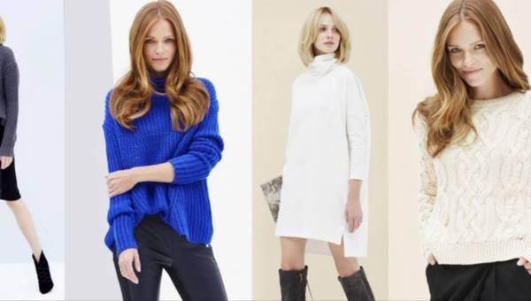 Ciepłe swetry Femestage Eva Minge z kolekcji #WeLoveWool