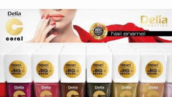 Nowa seria lakierów CORAL Delia Cosmetics w najmodniejszych kolorach sezonu