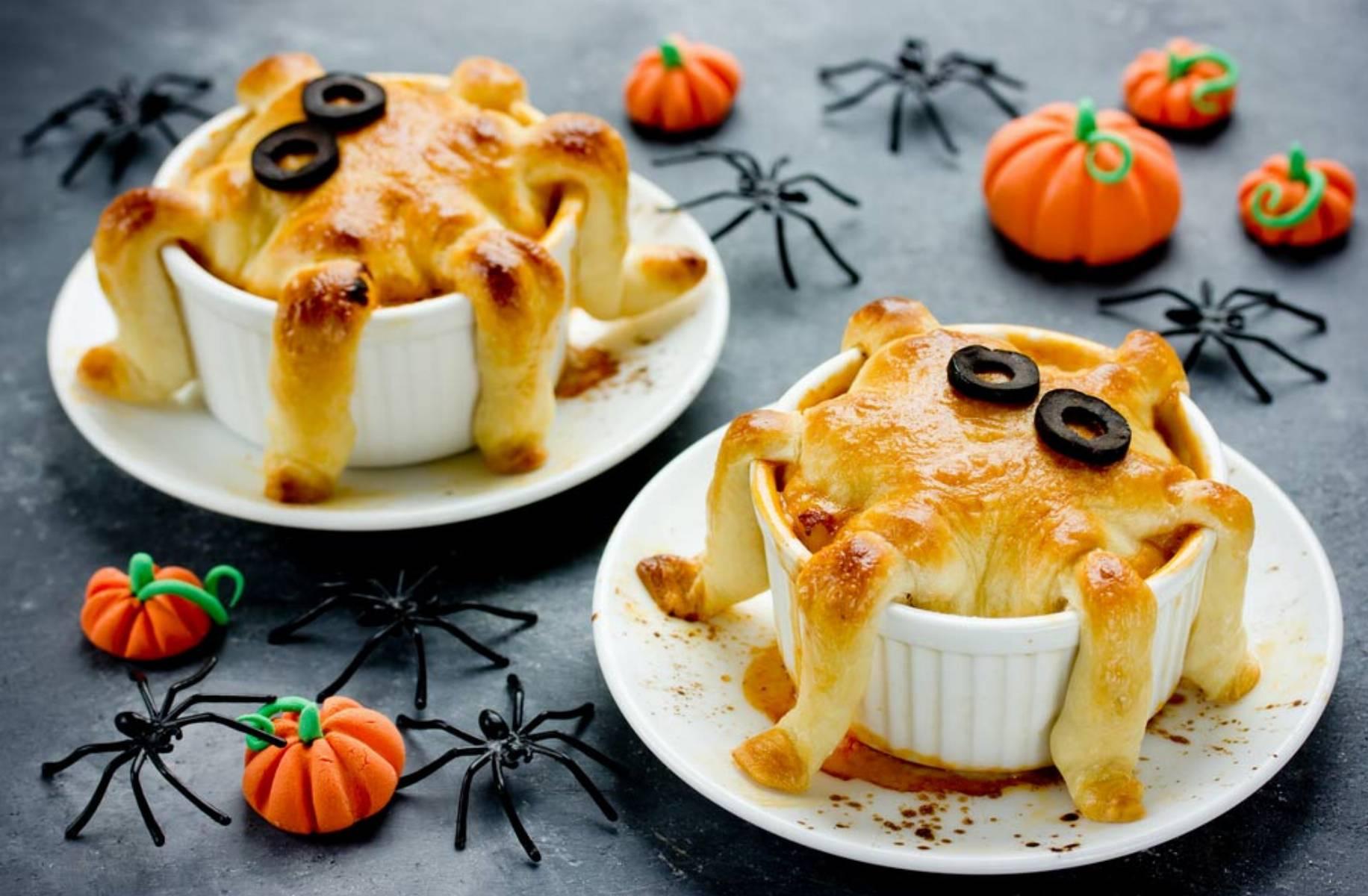 przepisy na halloween - muffinki