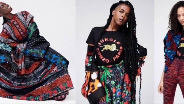 Lookbook kolekcji KENZO dla H&M