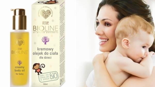 Kremowy olejek Little Bioline dla dzieci