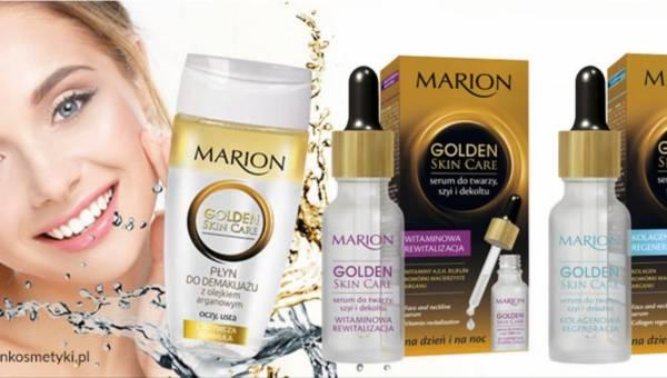 Nowości w serii kosmetyków Marion Golden Skin Care
