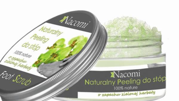 Nacomi, Peeling Cukrowy do Stóp z zapachu zielonej herbaty