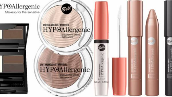 Kolejne makijażowe nowości Bell HYPOAllergenic