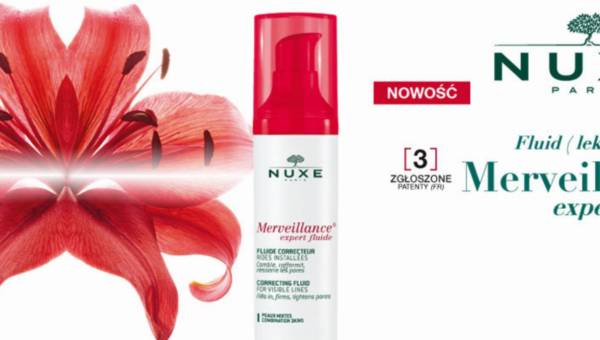 Polecamy: NUXE – Fluid (lekki krem) Merveillance expert