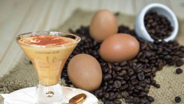 Oryginalne przepisy na kawę z jajkami