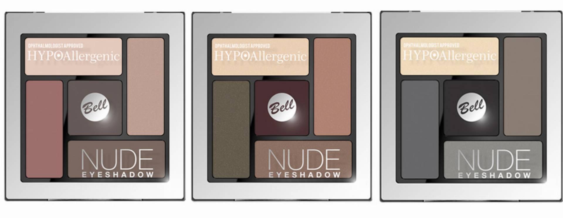 Bell, HypoAllergenic Nude Eyeshadow, hypoalergiczne